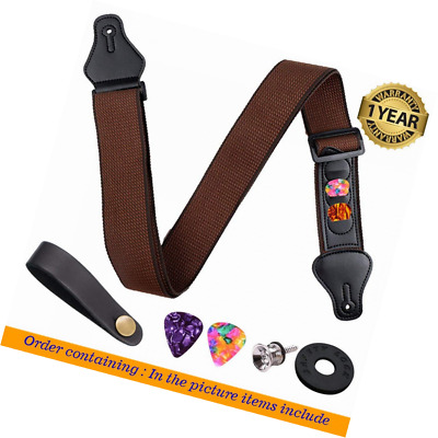 Guitar Strap Pure cotton-Adjustable for Acoustic Classical and Electric