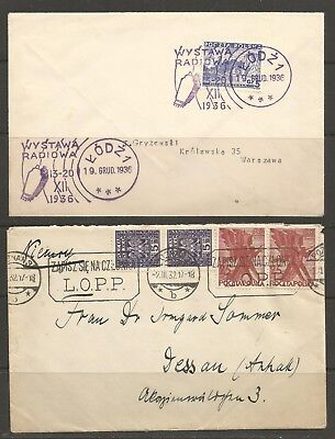 Poland, Two Covers Set 1