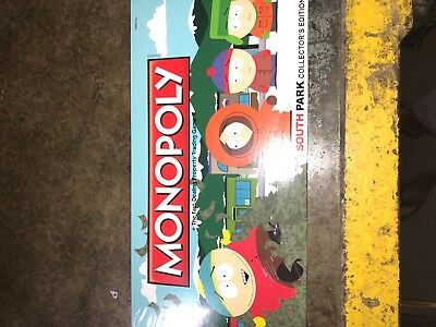 South Park Collector's Edition MONOPOLY With 6 Collectible Tokens by USAopoly