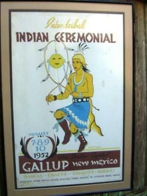 31th Annual Gallup Inter-Tribal Ceremonial Poster - 1952 - Louie Ewing - IPB31