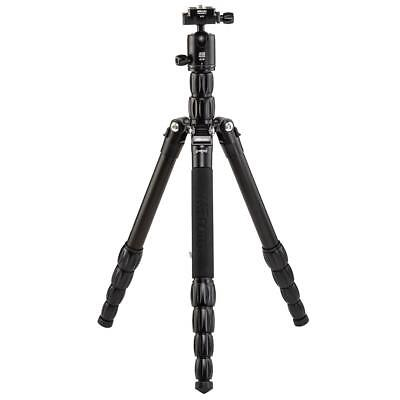 MeFOTO RoadTrip S Aluminum Travel Tripod/Monopod, Black #RTSABLK