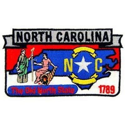 "Eagle Emblems PM6734 Patch-North Carolina (State Map) (3"")"