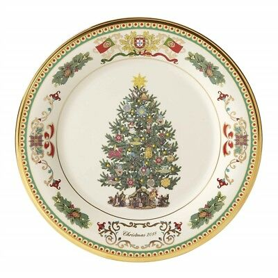 Lenox 2018 Trees Around the World Portugal Annual Christmas Plate