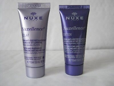 NUXE - Nuxellence ECLAT & DETOX - Anti-aging DAY & NIGHT Cream - NEW