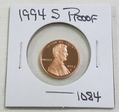 1994 S Proof Lincoln Memorial Cent/Penny (1084)