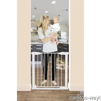 Dreambaby Boston Magnetic Auto-Close Security Gate WHITE Baby Safety