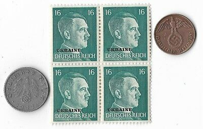 Authentic Rare Old German WWII WW2 Germany Coin Stamp Great Collection Relic Lot