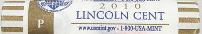 2010-P Us Mint Sealed Lincoln Shield Cent Penny Bu Roll Lp5