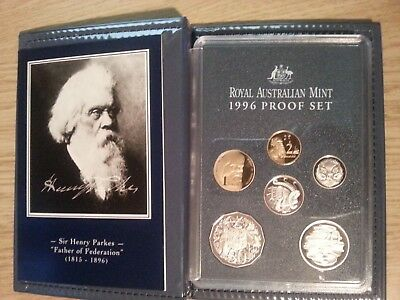 1996 Royal Australian Mint Proof Coin Set, Father of Federation