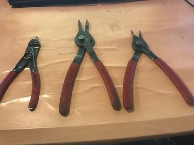 Blue Point/Mac Tools 3pc Snap Retaining Pliers