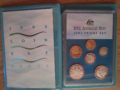 1993 Royal Australian Mint Proof Coin Set