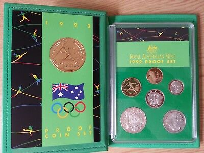 1992 Royal Australian Mint Proof Coin Set, Barcelona Olympic Games