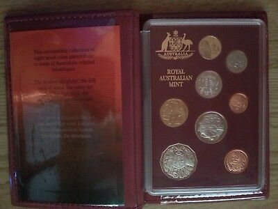 1989 Royal Australian Mint Proof Coin Set