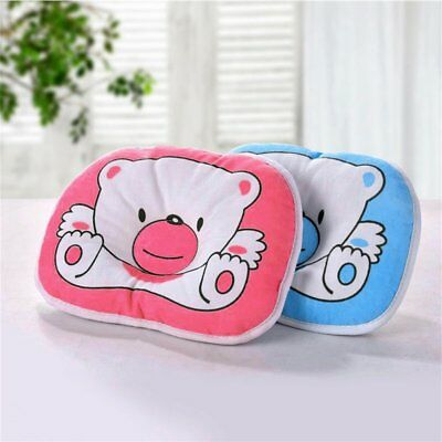 Bear Pattern Pillow Newborn Infant Baby Support Cushion Pad Prevent Flat NY