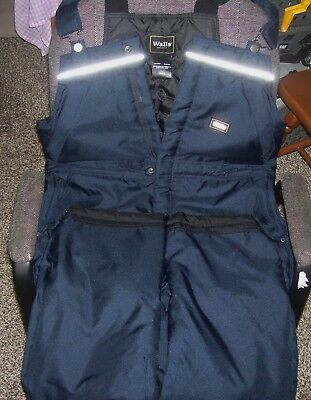 WALLS Mens Medium Size Bib Overalls GREAT CONDITION Never Worn NICE !! M