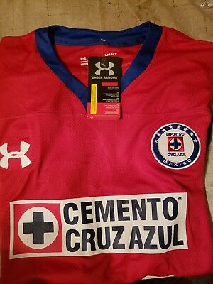 796ba0971f7 NEW CRUZ AZUL jersey 2018-2019 Red (Third Jersey) Under Armour ...