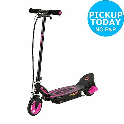 Razor Power Core E90 Electric 12V Scooter 2 Wheels Pink 8+ Years