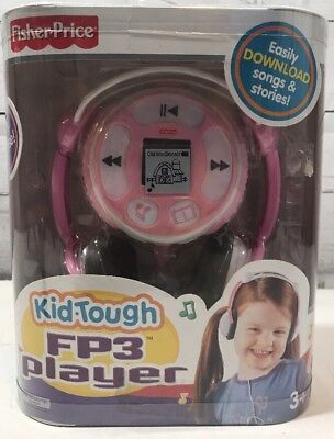 Fisher Price Kid-Tough FP3 Player PINK Music and Stories New in Package