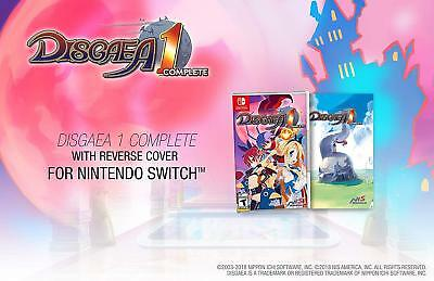 Disgaea 1 Complete (Nintendo Switch) ******BRAND NEW & FACTORY SEALED!****** nsw