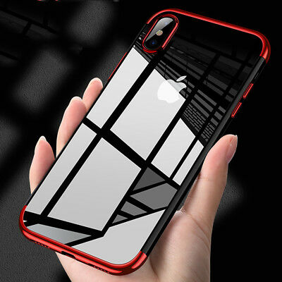 Luxury Ultra Slim Shockproof Case Cover For Apple iPhone Xs/Xr/ Xs MAX TPU Skin
