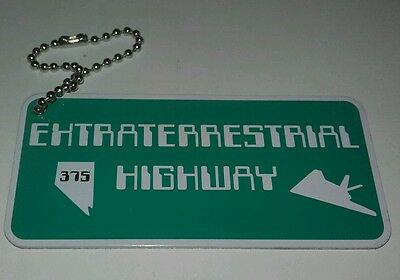'EXTRATERRESTRIAL HIGHWAY' travel tag - unactivated - geocaching