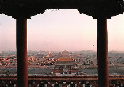 BR91765 distant view of forbidden city china