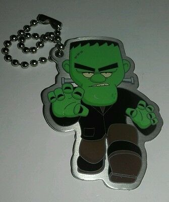 'FRANKENSTEIN MONSTER' travel tag - unactivated - geocaching