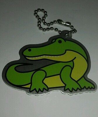 'ALVIN THE ALLIGATOR' travel tag - unactivated - geocaching