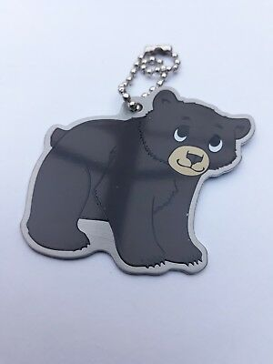 'BRADY THE BEAR' travel tag - unactivated - geocaching