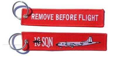 RAAF 10 Squadron P-3 Orion Remove Before Flight Key Ring
