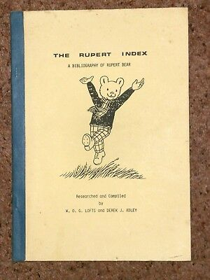 Rupert Identification Guide,annuals,adventure Series,specials Ect!