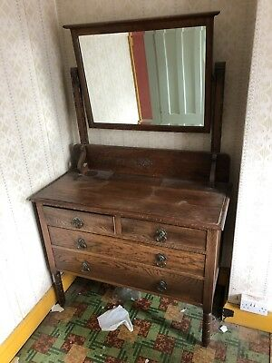 Fabulous vintage  dressing table with mirror