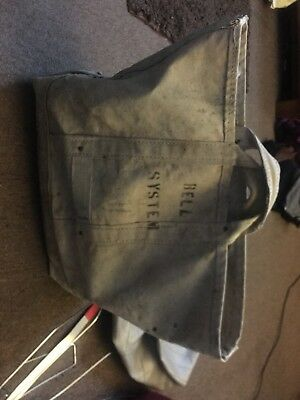 Vintage Bell Systems canvas tote bag