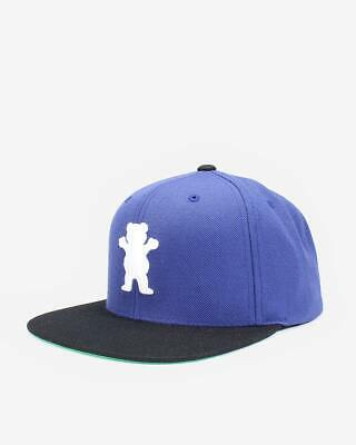Grizzly OG Bear Snapback Cap - unisex Skateboard Kappe - royal
