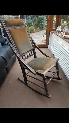 Genuine Edwardian Rocking Chair
