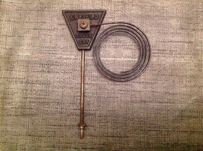 "Enfield Clock Chime Gong 6.5X4.5"" Antique Mantle Clock Spare Part"