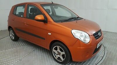 2008 Kia Picanto Chill Orange 1.1 Petrol 5 Speed Manual Hatchback
