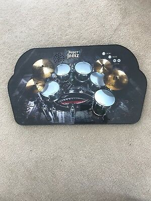 Paper Jamz Instant Rockstar Drums Drum Kit in used condition