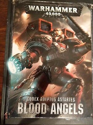 Warhammer 40k Blood Angels Codex Top Zustand deutsch