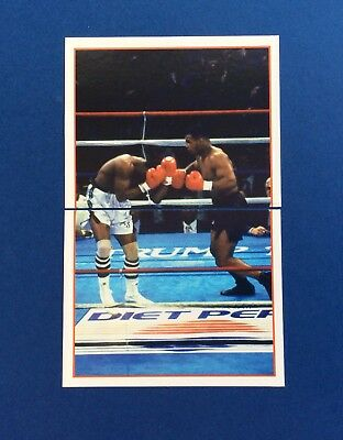 Mike Tyson Merlin Sky Sports 1996 Stickers Perfect