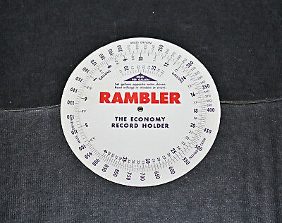 1962 Nash Rambler Mileage & MPG Calculator