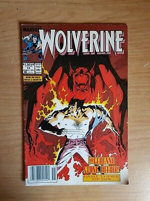 Wolverine #13 Marvel Oct 89 Vf Combine Shipping Rates