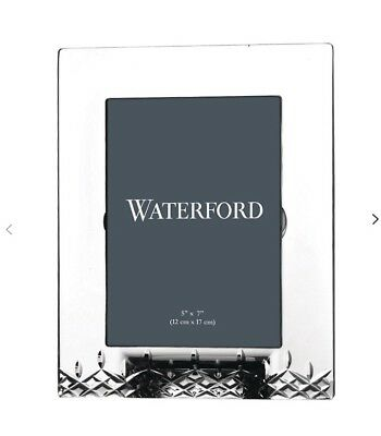 Waterford Crystal Lismore essence Picture Photo Frame 5 x 7