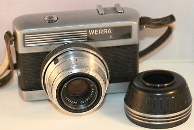 Werra 1 35mm Film Camera with Carl Zeiss Lens