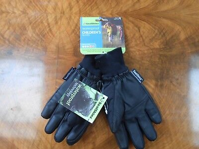 SealSkinz Children's Waterproof Gloves age 10-13. Thermal rating 4.