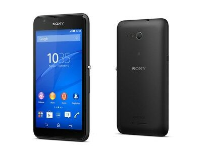 Sony XPERIA E4g in Black Handy Dummy Attrappe - Requisit, Deko, Werbung, Muster