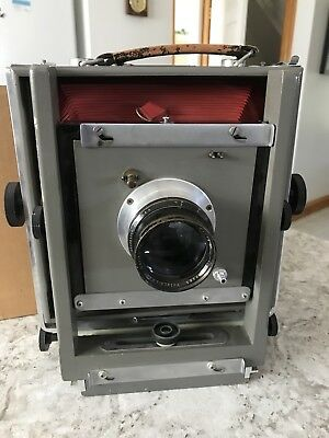 Burke and James 5X7 View Camera!!FLAT BED! with Exetnsion bed and 2 lens boards