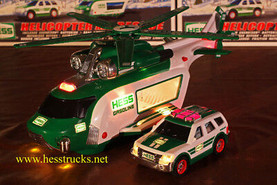 2012 Hess Helicopter Truck  -  Case Fresh - 100% MIB
