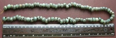 Authentic Ancient Lake Ladoga VIKING Artifact > 75+ Bronze Necklace Beads AU 1