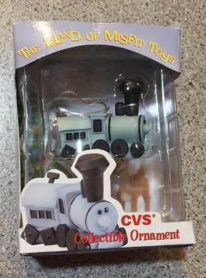 1999 Enesco CVS Collectible Ornament Island of Misfit Toys Train Square Wheels